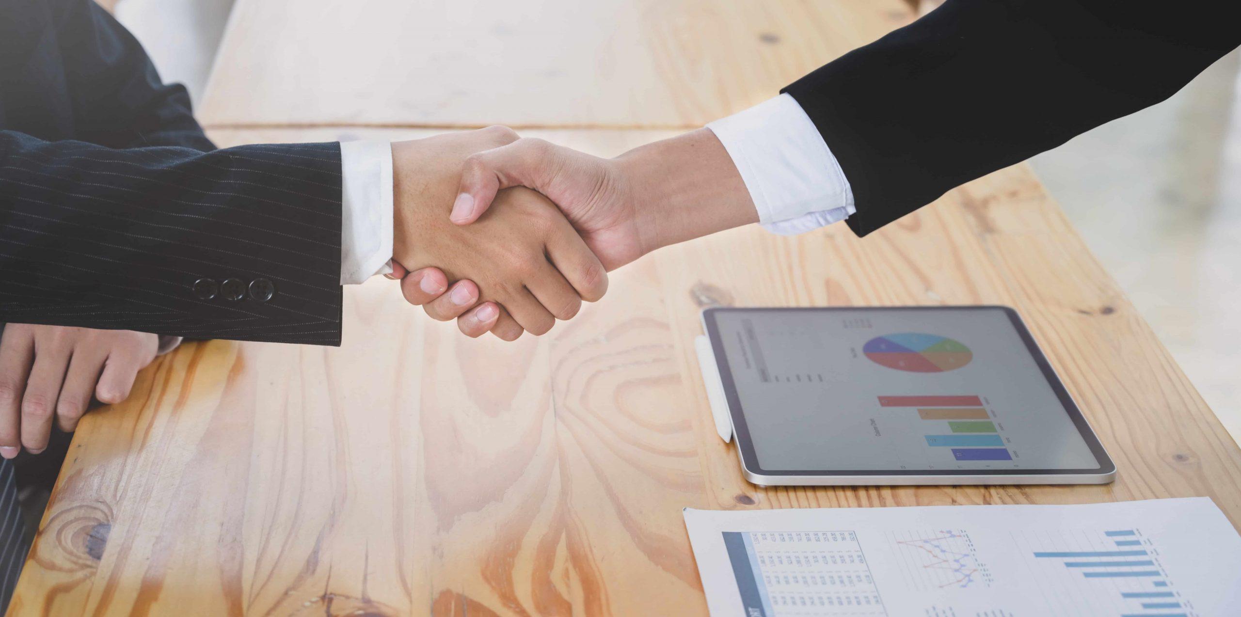 Business Partners Hand Shake